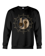 Circle Of Fifths Yin Yang Guitar Chord T-shirt Crewneck Sweatshirt tile