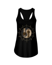 Circle Of Fifths Yin Yang Guitar Chord T-shirt Ladies Flowy Tank tile