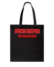 AFRICAN DIASPORA STRONG  Tote Bag thumbnail