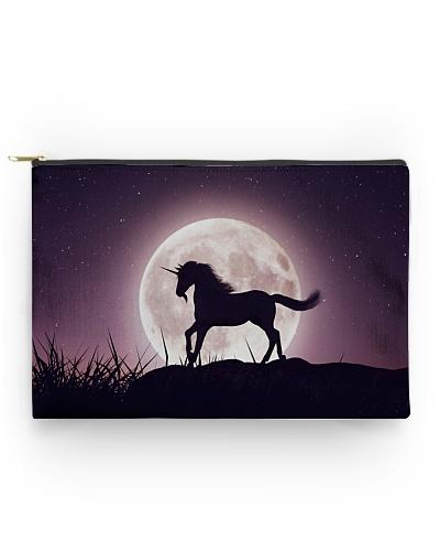 Purple Unicorn zipper bag