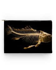 Fish Bones Zipper Bag Accessory Pouch - Standard back