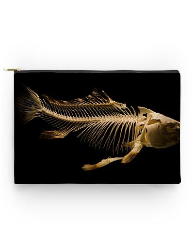 Fish Bones Zipper Bag