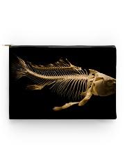 Fish Bones Zipper Bag Accessory Pouch - Standard front