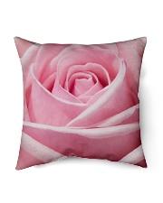 """Pink Rose Indoor Pillow - 16"""" x 16"""" thumbnail"""