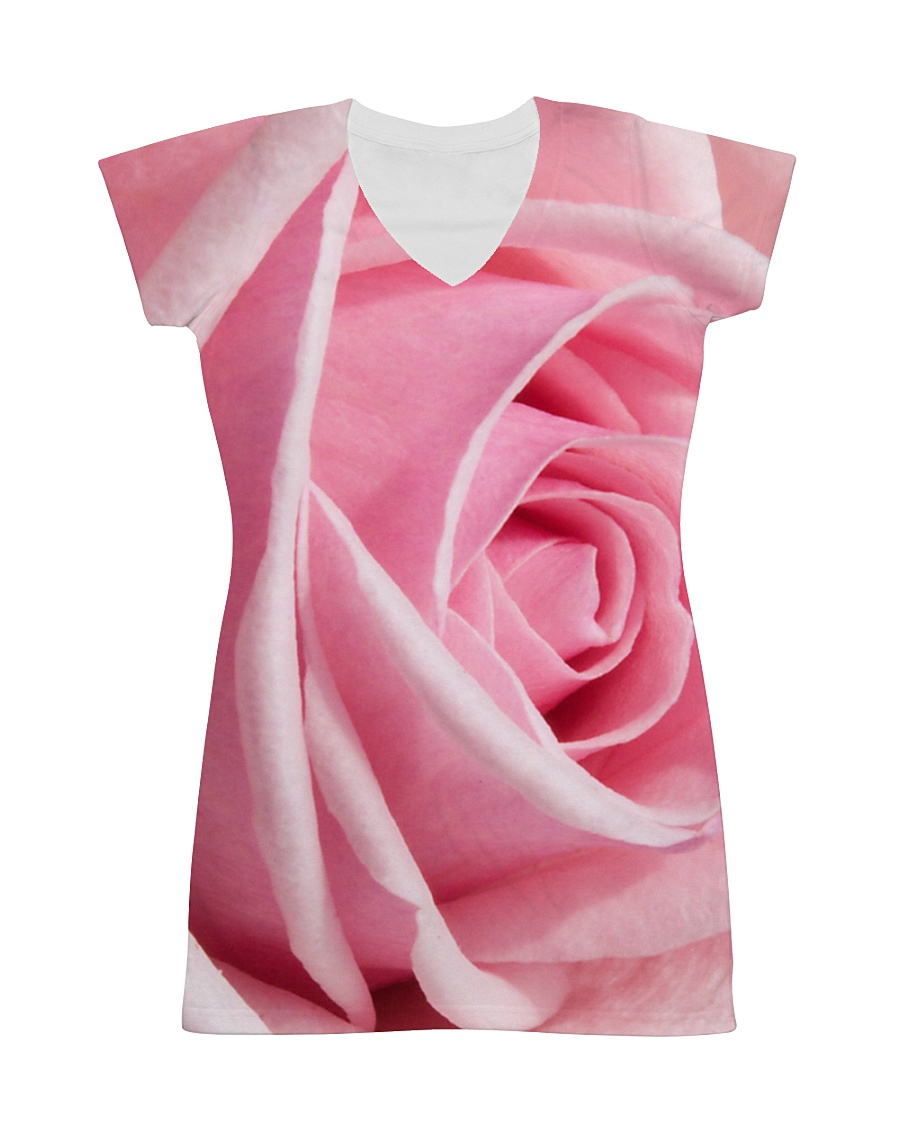 Pink Rose All-over Dress