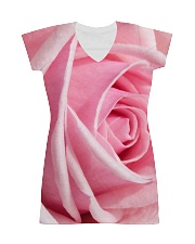 Pink Rose All-over Dress front