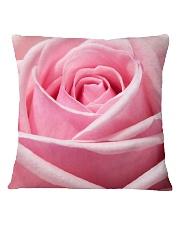 Pink Rose Square Pillowcase thumbnail