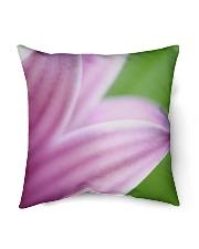 "Purple Petals Indoor Pillow - 16"" x 16"" thumbnail"