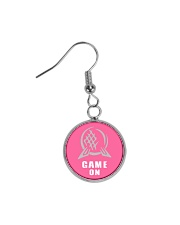 Epcot Game On Circle Earrings thumbnail