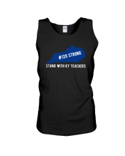 120 Strong Stand With KY Teachers Shirt Unisex Tank thumbnail