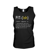 Fit-ish Definition Funny Exercise Workout Gym Tees Unisex Tank thumbnail