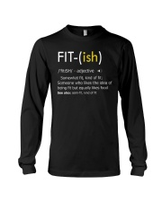 Fit-ish Definition Funny Exercise Workout Gym Tees Long Sleeve Tee thumbnail