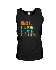 FUncle Uncle The Man The Myth The Legend T Shirt Unisex Tank thumbnail