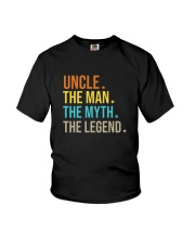 FUncle Uncle The Man The Myth The Legend T Shirt Youth T-Shirt thumbnail