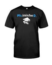 PhD Phinished PhD Graduation Giftds Classic T-Shirt thumbnail
