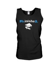 PhD Phinished PhD Graduation Giftds Unisex Tank thumbnail
