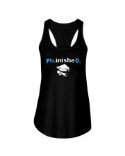 PhD Phinished PhD Graduation Giftds Ladies Flowy Tank thumbnail