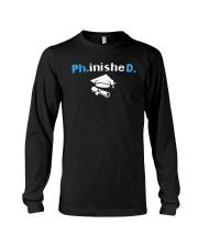 PhD Phinished PhD Graduation Giftds Long Sleeve Tee thumbnail