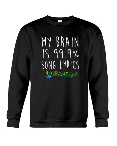 My Brain is 99 Song lyrics Funny Music Notes