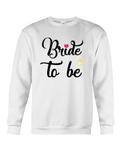 Bride To Be Shirt Matching Heart Wedding Bridal  Crewneck Sweatshirt thumbnail