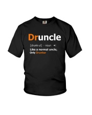 Druncle Like a Normal Uncle Only Drunker Funny Youth T-Shirt thumbnail