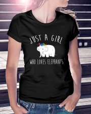 Just A Girl Who Loves Elephants Shirt  Premium Fit Ladies Tee lifestyle-women-crewneck-front-7