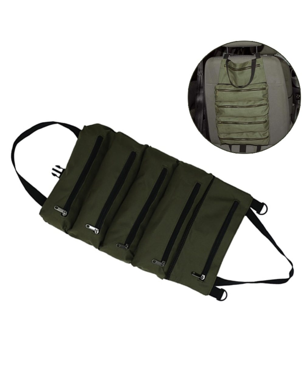 Multi-Purpose Zipper Carrier Roll Up Tote: Best Tool Pouch for Electricians  template