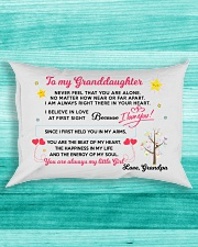 MY GRANDDAUGHTER - GRANDPA Rectangular Pillowcase aos-pillow-rectangle-front-lifestyle-5