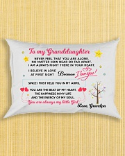 MY GRANDDAUGHTER - GRANDPA Rectangular Pillowcase aos-pillow-rectangle-front-lifestyle-6