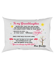 MY GRANDDAUGHTER - GRANDPA Rectangular Pillowcase back