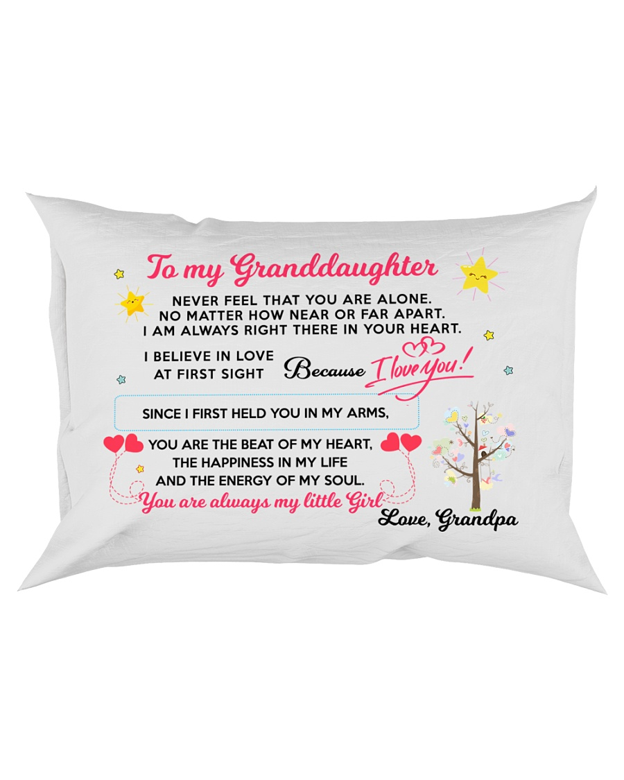 MY GRANDDAUGHTER - GRANDPA Rectangular Pillowcase