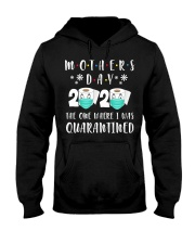 Mothers Day The One Where I Was Quarantined Hooded Sweatshirt thumbnail