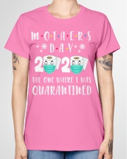 Mothers Day The One Where I Was Quarantined Ladies T-Shirt garment-tshirt-ladies-front-01