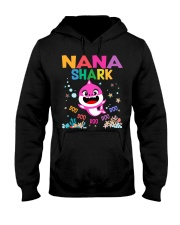 Nana Shark Doo Doo Doo Shirt Hooded Sweatshirt thumbnail