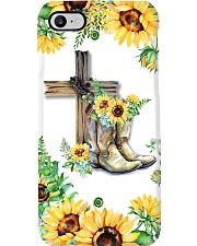 Sunflower Waymaker Phone Case i-phone-8-case