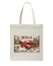Jesus Take The Wheel Tote Bag tile