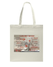Cardinal Personalized I Can Only Imagine Tote Bag tile
