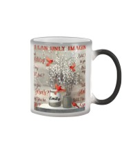 Cardinal Personalized I Can Only Imagine Color Changing Mug tile