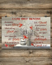 Cardinal Personalized I Can Only Imagine 17x11 Poster aos-poster-landscape-17x11-lifestyle-14