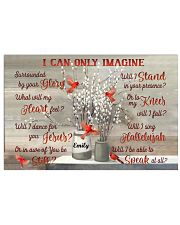 Cardinal Personalized I Can Only Imagine 17x11 Poster front