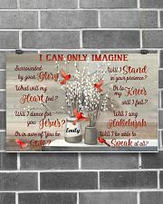 Cardinal Personalized I Can Only Imagine 17x11 Poster poster-landscape-17x11-lifestyle-18