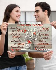 Cardinal Personalized I Can Only Imagine 17x11 Poster poster-landscape-17x11-lifestyle-20