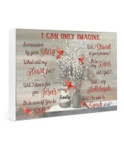Cardinal Personalized I Can Only Imagine Gallery Wrapped Canvas Prints tile