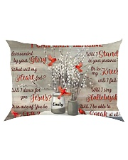 Cardinal Personalized I Can Only Imagine Rectangular Pillowcase tile