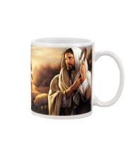 Jesus Christ The Good Shepherd Mug tile