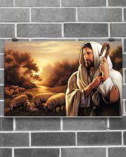 Jesus Christ The Good Shepherd 17x11 Poster poster-landscape-17x11-lifestyle-18
