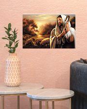 Jesus Christ The Good Shepherd 17x11 Poster poster-landscape-17x11-lifestyle-21