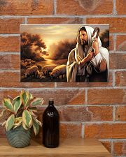 Jesus Christ The Good Shepherd 17x11 Poster poster-landscape-17x11-lifestyle-23