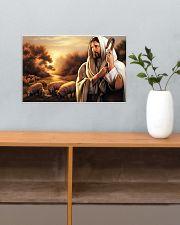 Jesus Christ The Good Shepherd 17x11 Poster poster-landscape-17x11-lifestyle-24