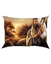 Jesus Christ The Good Shepherd Rectangular Pillowcase tile